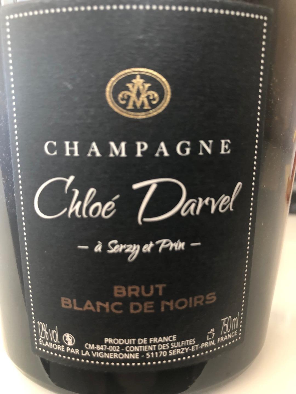 Cuvée Brut Blanc de Noirs étiquette