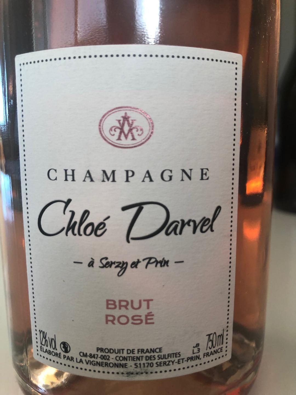 Cuvée Brut Rosé étiquette